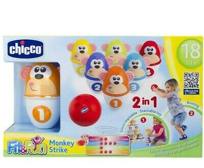 Chicco Monkey Strike Ages 18 Months+ Fantastic Traditional Fun & Skill Learning
