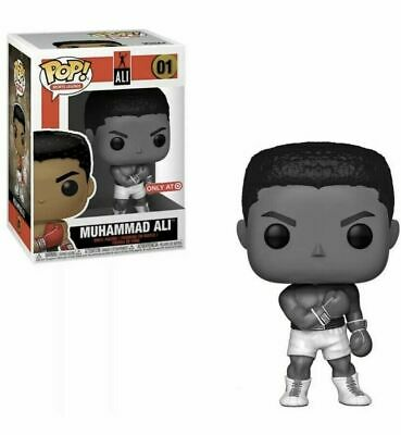 Funko Pop Icons Boxing Muhammad Ali Black And White Target Exclusive In Hand