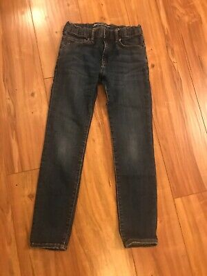 GAP KIDS 1969 Boys Size 12  Regular Blue adjustable waist  Skinny jeans