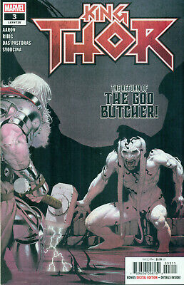 King Thor #3 By Jason Aaron Esad Ribic God Butcher Variant A Avengers NM/M 2020