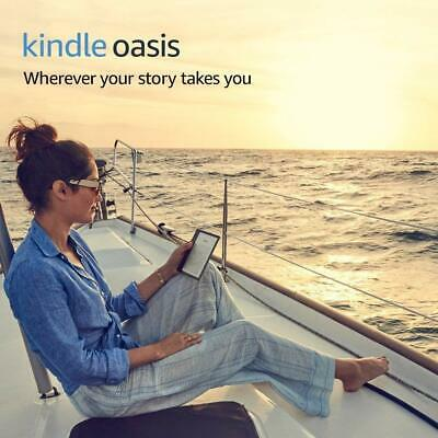 """Kindle Oasis E-reader (Previous Generation - 9th) - Graphite, 7"""" High-Resolution"""