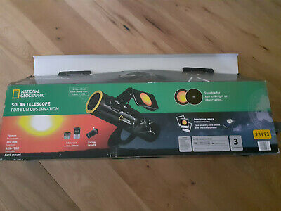 National Geographic SOLAR Telescope for Sun Observation