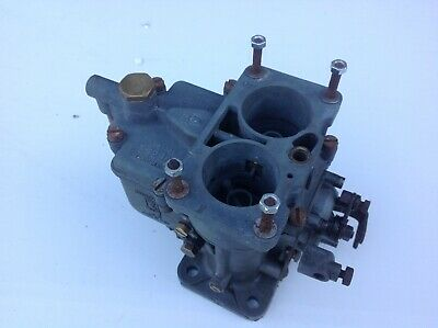 Weber twin choke, 28 36 twin choke carburettor. Made in Bologna