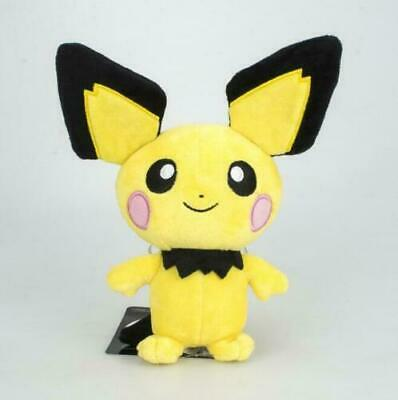 Anime Pokemon Pichu Pikachu Plush Toy Soft Stuffed Doll Teddy 20cm Xmas Gift