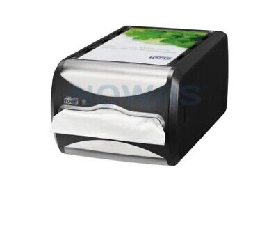 Tork Xpressnap Counter Napkin Dispenser - Black - 272511 - **NEW**