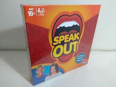 Speak Out Family Party Board Game