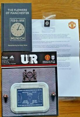 Manchester United Munich Air Disaster 60th Anniversary Pack