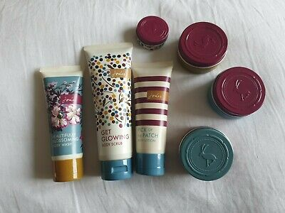 Joules 7 pc body bundle scrub Wash,Scrubs, Lotions,Butter,Lip Balm & Hand Cream