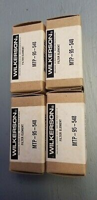 New In Box Wilkerson Filter Element Mtp-95-548 Lot Of 4