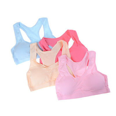 Baby Girls Cotton Bras Young Girls Underwear For Sport Training Puberty BraSWTVX