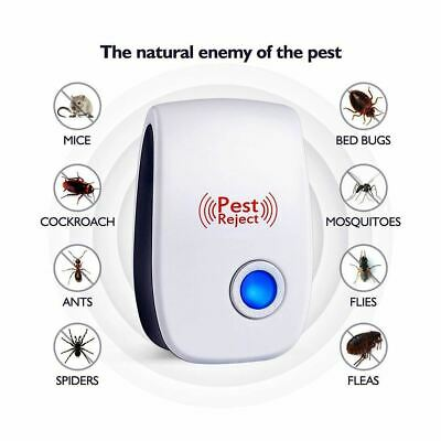 Electronic Pest Repeller Mosquito Mouse Rat Multi-function Mini Insect Killer Ro