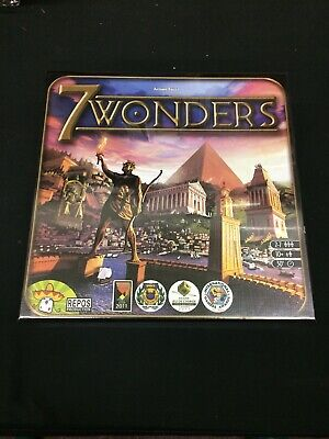 7 Wonders Board Game... AUTHENTIC ...BRAND NEW and SEALED ...PRIORITY SHIPPING