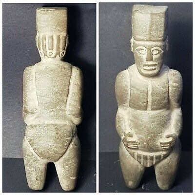 Very old wonderfull bactrian rare stone statue