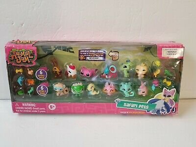 Animal Jam SAFARI PETS Playset 12 Figures In Original Packaging NO CODE
