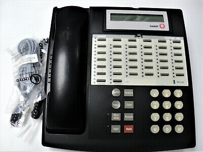 AT&T Lucent Avaya Euro Partner 34D Black Display Phone Warranty