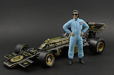 FIGURINE  1//20  DRIVER  PILOTE  EMERSON  FITTIPALDI  VROOM  FOR  TAMIYA  SPARK