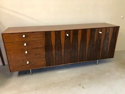 George Nelson Herman Miller Thin Edge Rosewood Credenza
