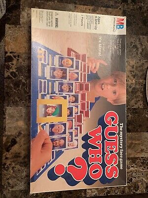 Guess Who Board Game 1991 Vintage Milton Bradley WITH INSTRUCTIONS! RARE!