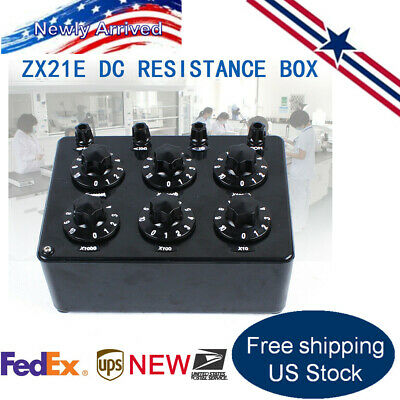 ZX21E High Precision Variable Decade Resistor DC Resistance Box For Teaching