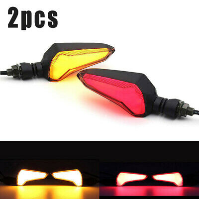 Motorcycle LED Light Flasher Turn Signal Indicator Lamp For Honda CB650F CB400X