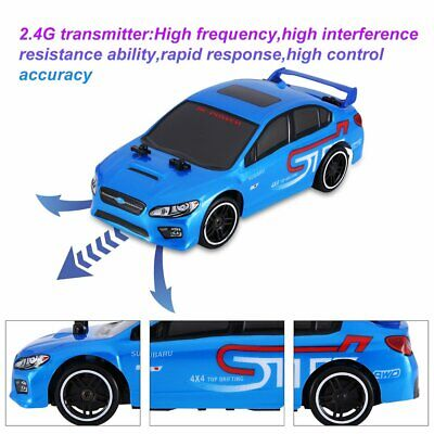 1:24 RC Car Toys 2.4G Remote Control 4WD Drift Racing Car Children's Gifts G6