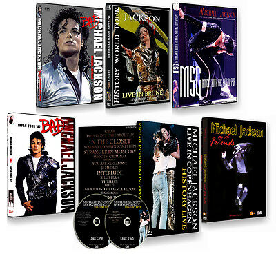 Michael Jackson Bad Thriller - The Best Dvd Collection Ever Part 1