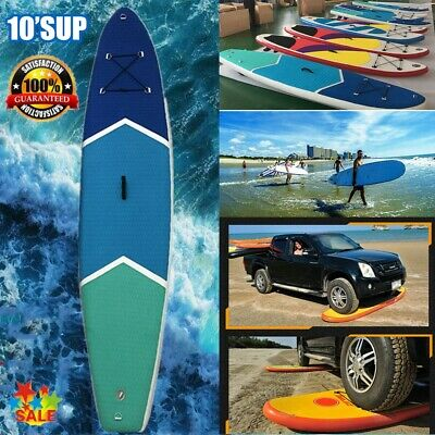 3M Air Inflatable SUP 10' stand up Pagaie Board avec Pure Pagaie ( Jaune )