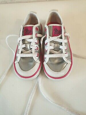 Girls Silver Adidas Trainers Infant Uk 7