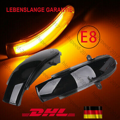 10pcs Auto LED Eagle Eye Daytime Running DRL Tail Licht Lampe Backup Weiß 12V DE