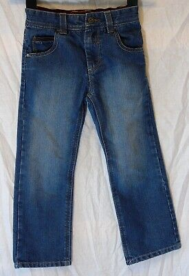 Boys Next Blue Classic Denim Adjustable Waist Relaxed Fit Jeans Age 6 Years