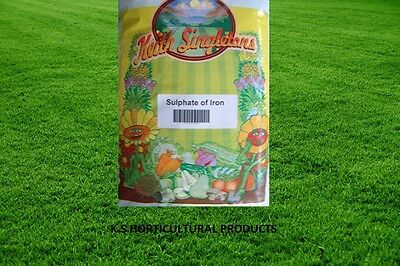 SULPHATE OF IRON (FERROUS SULPHATE)  (Fe+>30%) LAWN TONIC / MOSS CONTROL