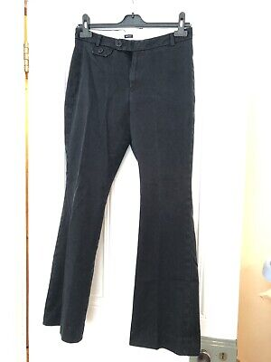 Vintage Gap Stretch Navy Corduroy Trousers, Size 10 / jeans womens usa office