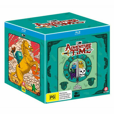 Adventure Time Complete Collection 1 - 10 Boxset (BLU-RAY) NEW