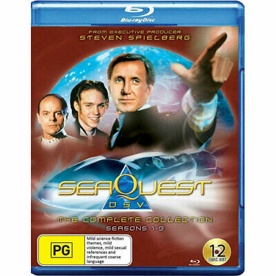 Seaquest Dsv: The Complete Collection BLU-RAY NEW