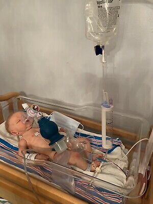 Doll NOT Included #C Authentic Neonatal Hospital MEDICAL KIT for Reborn Baby