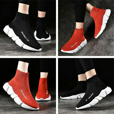 Women's Trainers Casual Sneakers Sock Shoes Sports Running Athletic Breathable