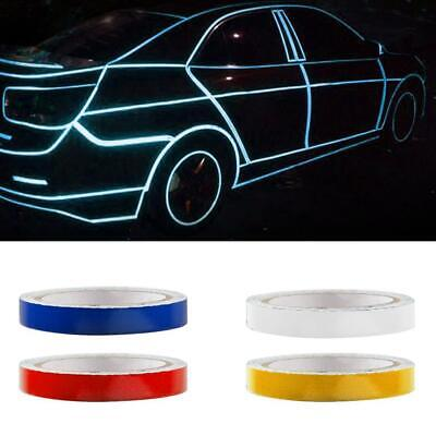 Reflective Night Safety Warning Stripe Car Truck Tape Decal Sticker 1/2 Hot W3P9