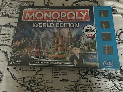 Monopoly Here & Now World Edition (Brand New) Unopened
