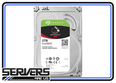 "Seagate IronWolf 2TB Internal 5900RPM 3.5"" (ST2000VN004) NAS"