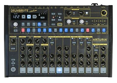 Arturia DrumBrute Creation Edition Analog MIDI Synth Drum Machine USB Interface