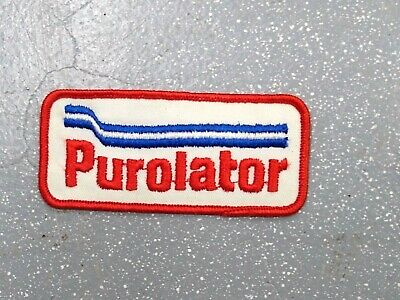 Purolator Embroidered Sew On Uniform Patch Racing Nascar 1980