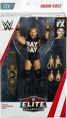 WWE Mattel Adam Cole Elite Series 71 Figure Rare IN STOCK