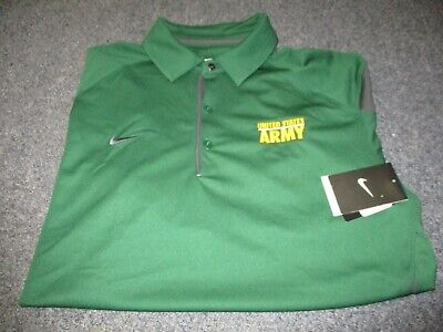 New Nwt Mens Nike Dri-Fit Us Us Army Short Sleeve Polo Shirt Size L Large