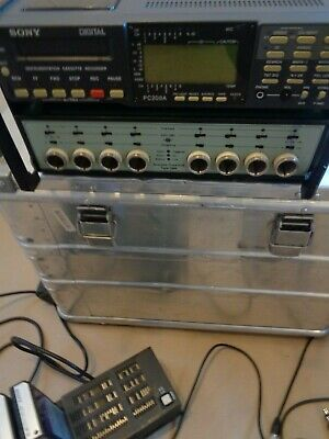 SONY PC208A DAT recorder Bruel & Kjaer 5966 Acoustic Front End 8 Channel data