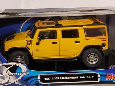 MAISTO HUMMER H2 SUV SPECIAL EDITION GM 1:27  Diecast NEW IN BOX