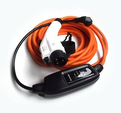 EV Electric Charger Citreon Berlingo, Type 1 to EU Plug 10M Cable+Case