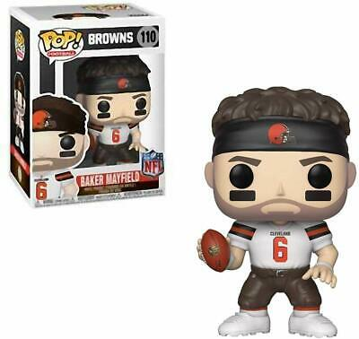 Funko Pop Football NFL Baker Mayfield #110 Cleveland Browns Vinyl Figure New