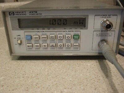 HP437B Power Meter - Clean, Calibrated, Tested! A+++
