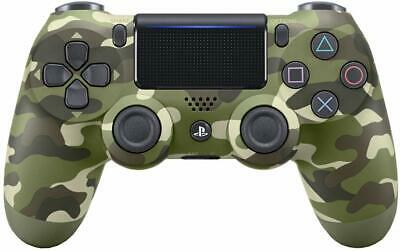 Sony PlayStation Green Camo DualShock 4 V2 PS4 Cammo Controller New Sealed