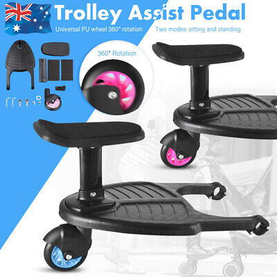 Universal Toddler Step Board Stroller Buggy Second Seat Travel for Prams Jogger